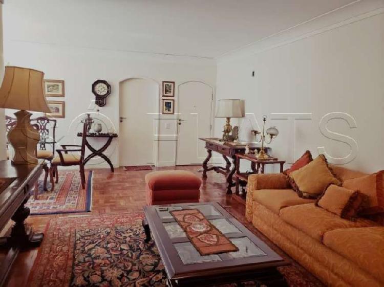 Apartamento na rua da consolação 122m²