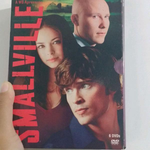 Box smallville 3ª temporada