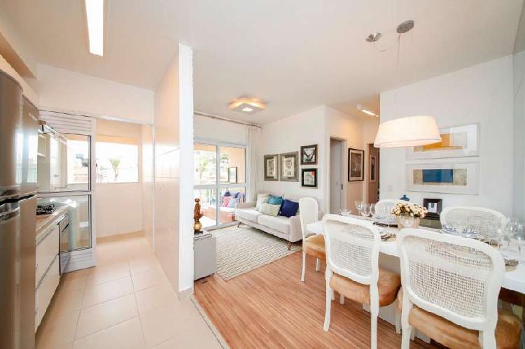 Condominio helbor enjoy apartamento com 60m2 sendo 2