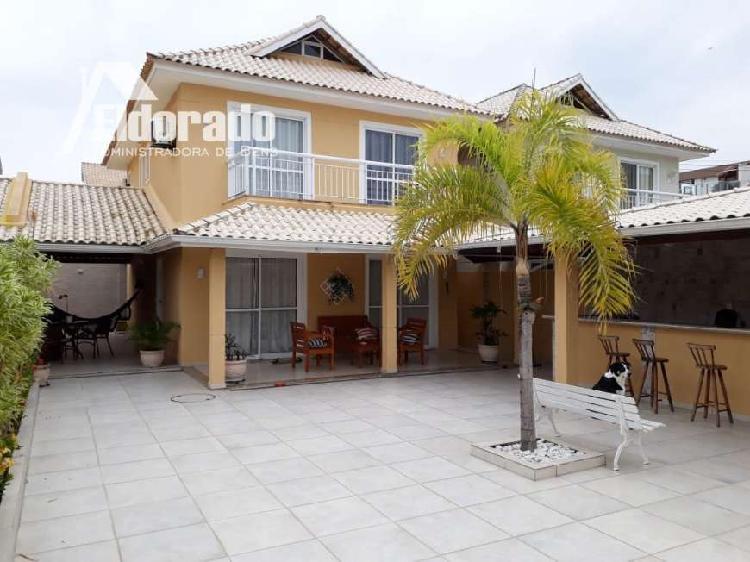 Casa em condomínio para venda e aluguel em recreio dos