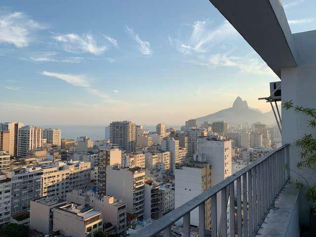 Excelente cobertura duplex, vista mar - rua nascimento
