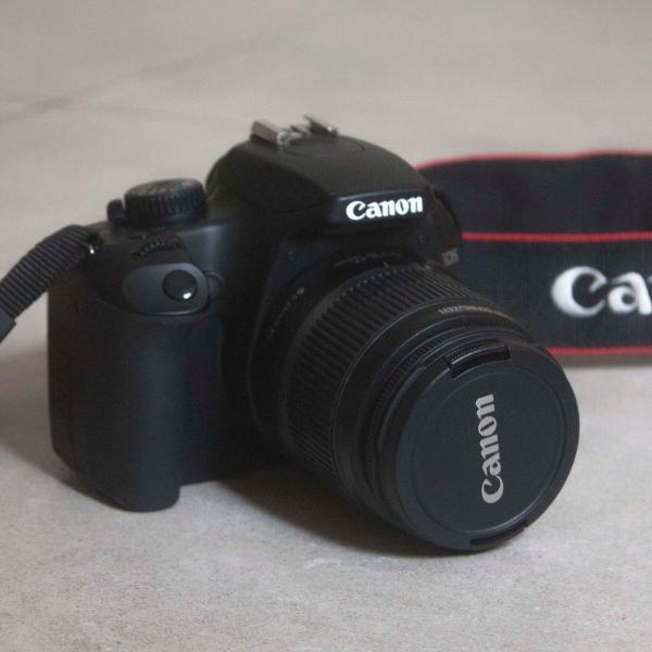 Câmera canon eos rebel xs