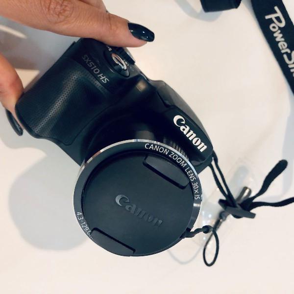 Câmera canon powershot sx510 hs wi fi