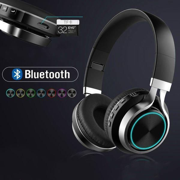 Headset sem fio bluetooth fone b51 c/entrada cartão