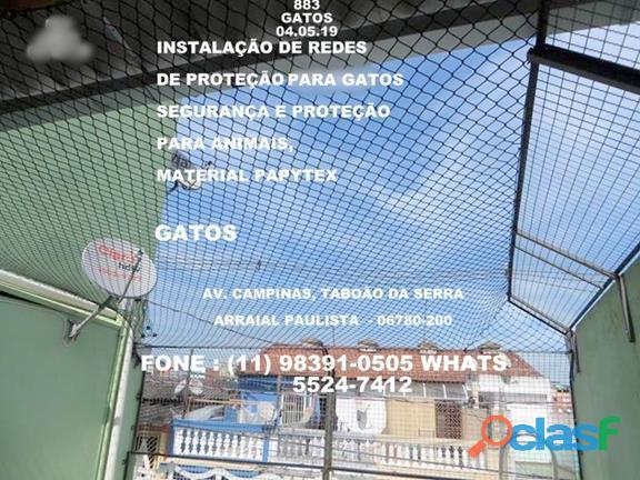 Telas de Proteção na Rua Traipu, Pacaembru, (11) 5541 8283 2
