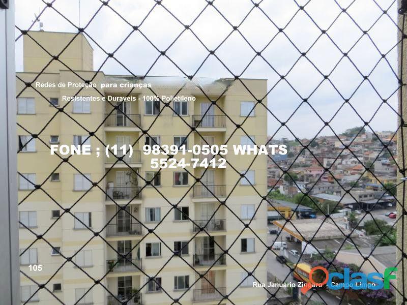 Telas de proteção no campo limpo, rua januario zingaro, (11) (8391 0505 whats