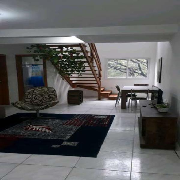 Timo apartamento duplex 3 dormitórios mobiliado, 90m2,