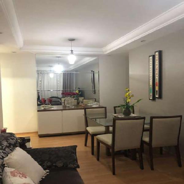 Apartamento residencial em santo andré - sp, parque das