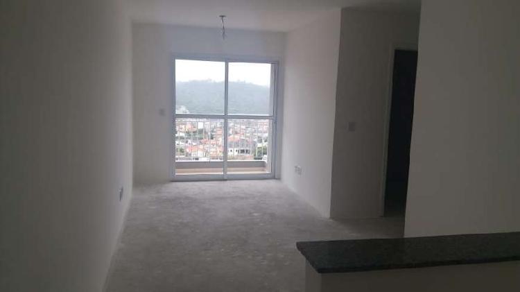 Apartamento 54m², 2 dormitórios, terraço grill e 1 vaga -