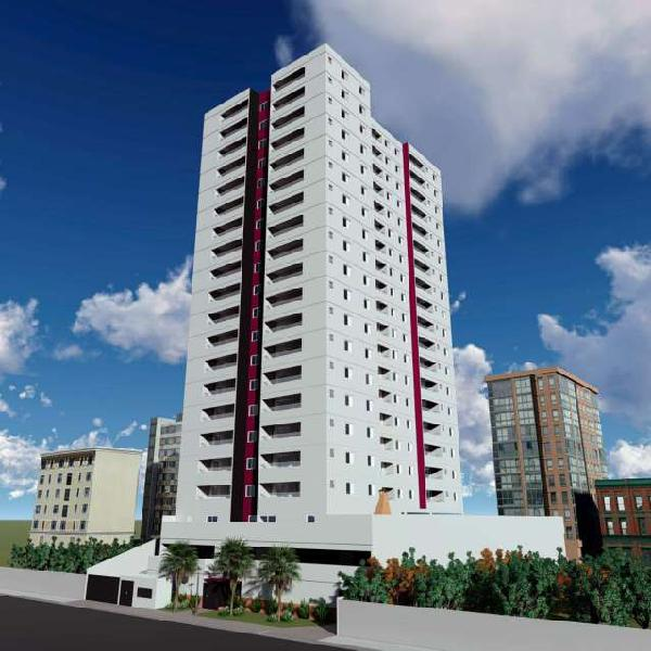 Apartamento 63m² - 2 dormitórios - suíte - amplo terraço