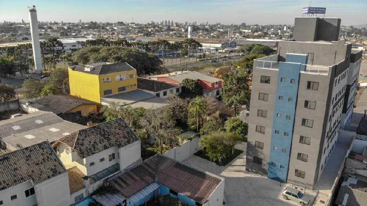 Apartamento de 2 quartos com suíte possui 56,45 m² r.