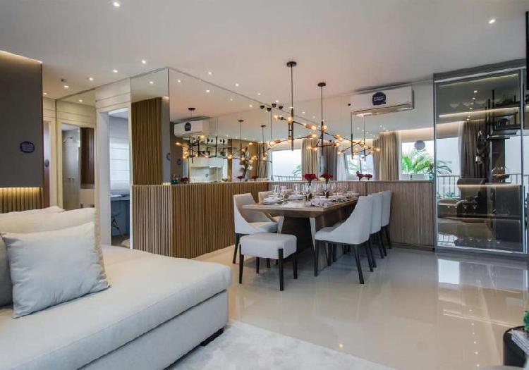 Apartamento para venda 2 dormitórios no belem com vaga