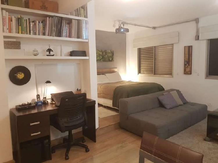 Apartamento para venda possui 50 metros quadrados com 1
