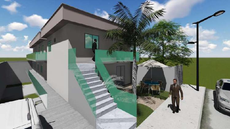 Casa de condomínio para venda possui 51 metros quadrados