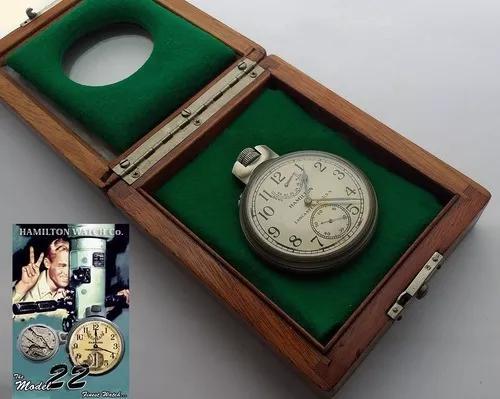 Hamilton chronometer militar 2º guerra us navy imperdível