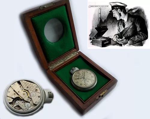Hamilton marine chronometer militar 2º guerra us navy