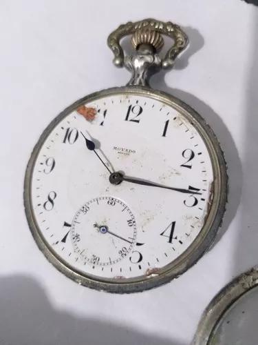 Movado relógio bolso prata colecao promoção r$ 499