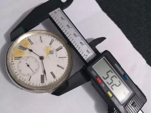 Relógio bolso prata raro coleção promocao r$499