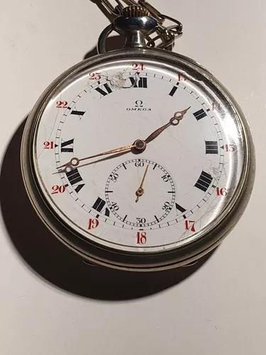 Relógio de bolso antigo ômega