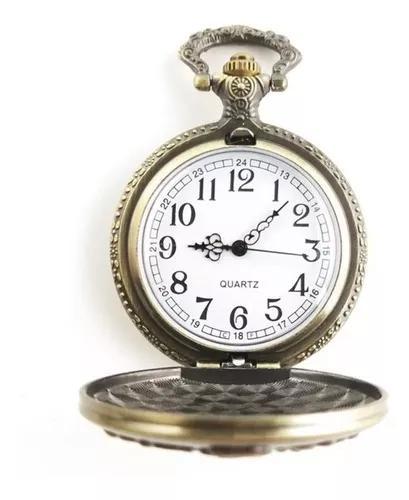 Relógio de bolso poker royal straight flush