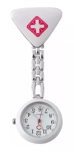 Relógio lapela bolso enfermag