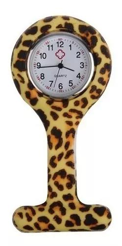 Relógio lapela silicone enfermeiras onça pronta entrega