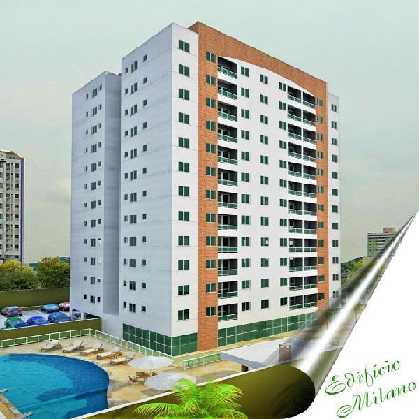 Residencial milano,3 quartos, 1 suite, 73m3, nascente, 2