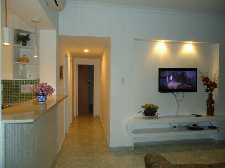 Temporada copacabana 3 quartos suite closet vista mar