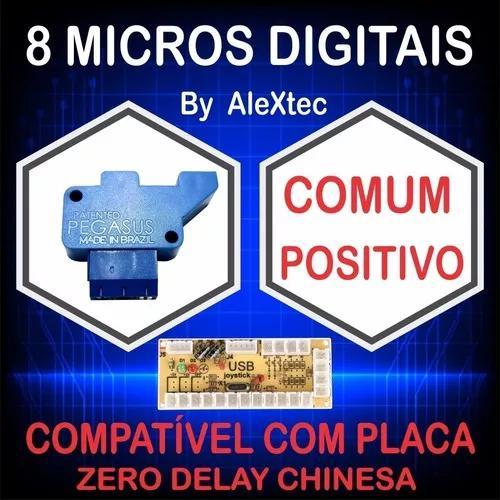 8 micro digital/óptica comum((positiva))fliperama arcade