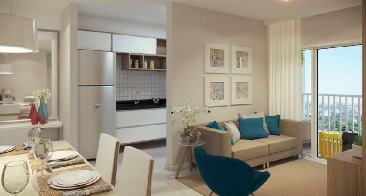 Apartamento 72m² com 2 dormitórios sendo 1 suíte,