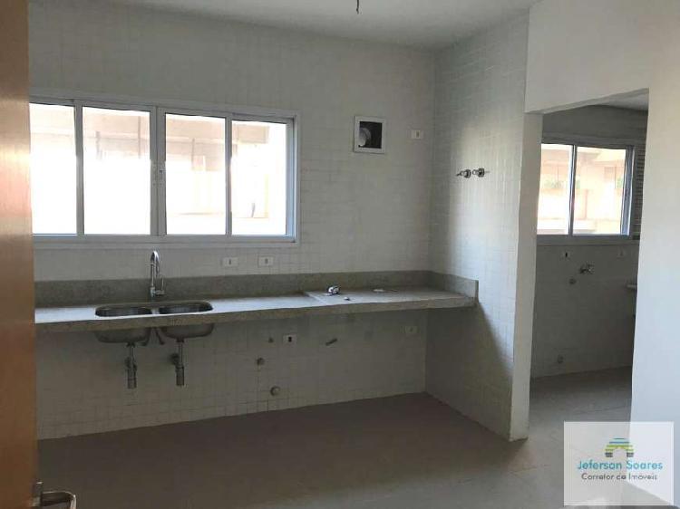 Apartamento novo 3 suítes com 3 vagas - bairro campestre -
