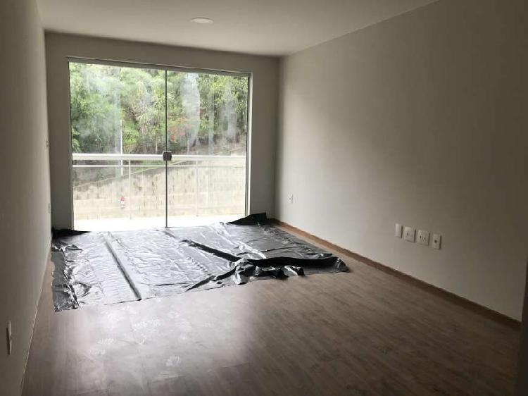 Apartamento novo, 1ª locação, com 3 quartos (1 suite) no
