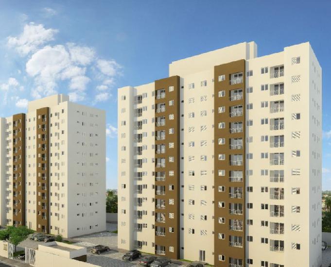 Apartamentos 2 dorm. itaqua e ferraz 46 m² 1vaga em obras