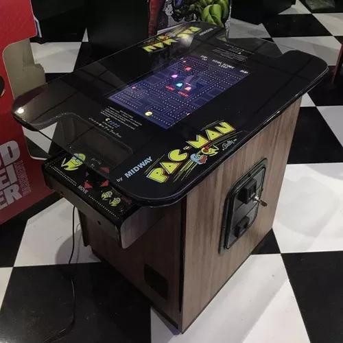 Arcade cocktail table fliperama exclusivo rnb tech