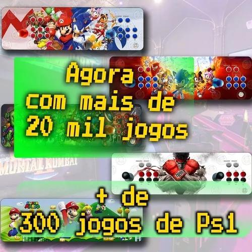 Arcade portátil clássico 20000 jogos com. ópticos 64gb
