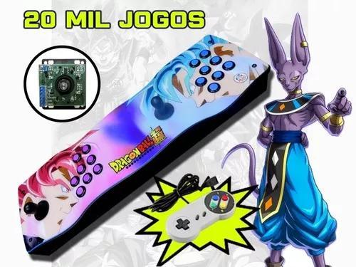 Arcade portátil pró 20000 jogos com. ópticos 64gb 2