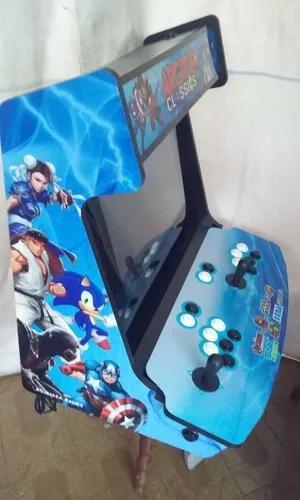 Bartop arcade fliperama 11mil jogos - kojimasa