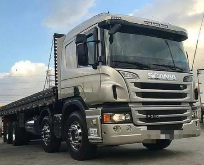 Caminhão scania 2015 carroceria 9,50m