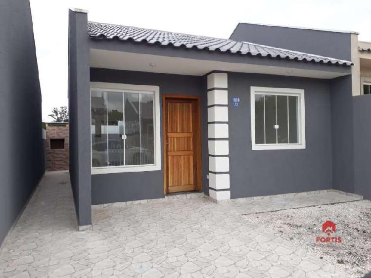 Casa em condomínio para venda em gralha azul fazenda rio