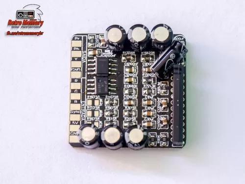 Conversor rgb - video componente com ths7314