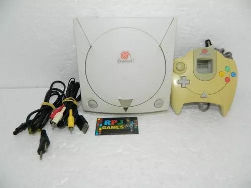 Dreamcast pronto p/ jogar - leitor 100% - loja centro rj