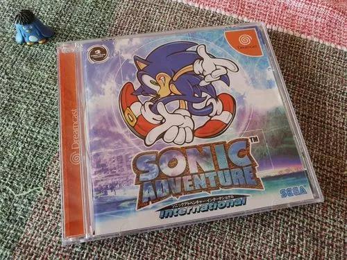 Dreamcast sonic adventure original japonês