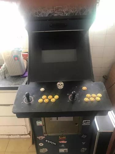 Fliperama arcade multijogos - leia o anúncio