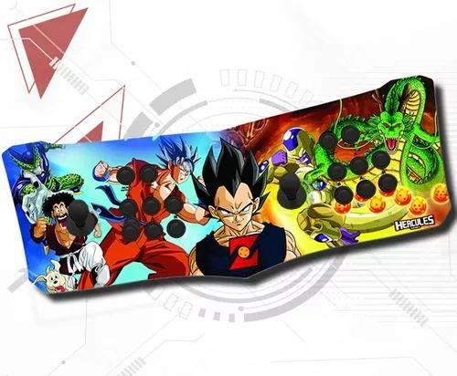 Fliperama portátil 100% digital arcade hércules games dbz