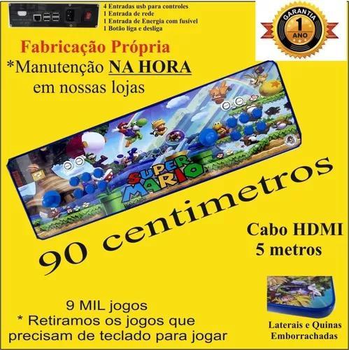 Fliperama portátil brutus games - mario 3 - promoção