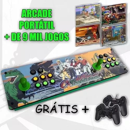 Fliperama portátil controle arcade - multijogo 8 mil jogos