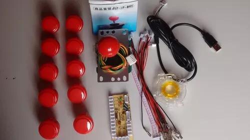 Kit arcade original sanwa para pc/ps3 pronta entrega!