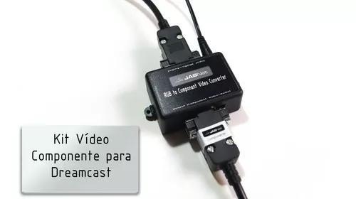 Kit vídeo componente para dreamcast (jasnet)