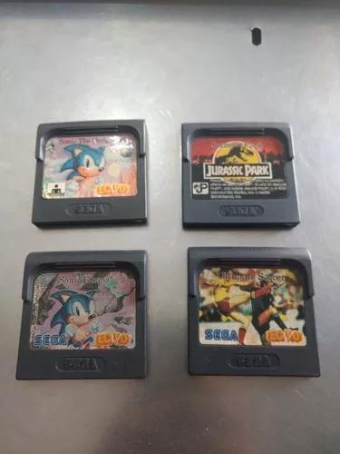 Lote jogos game gear originais