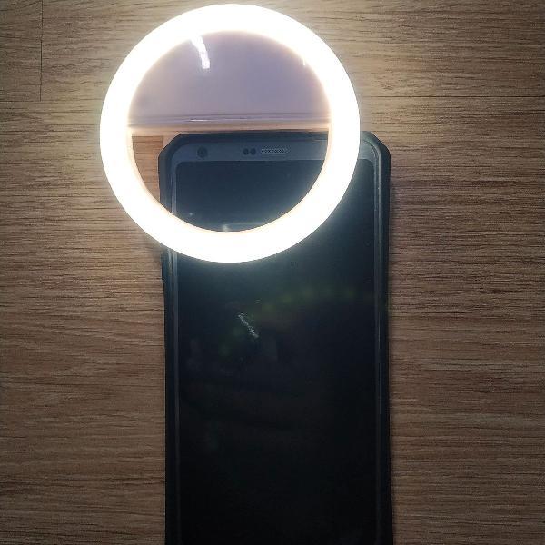 Ring light celular luz para selfie foto filmagem